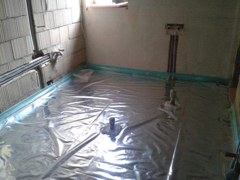 Накрыть бетон пленкой