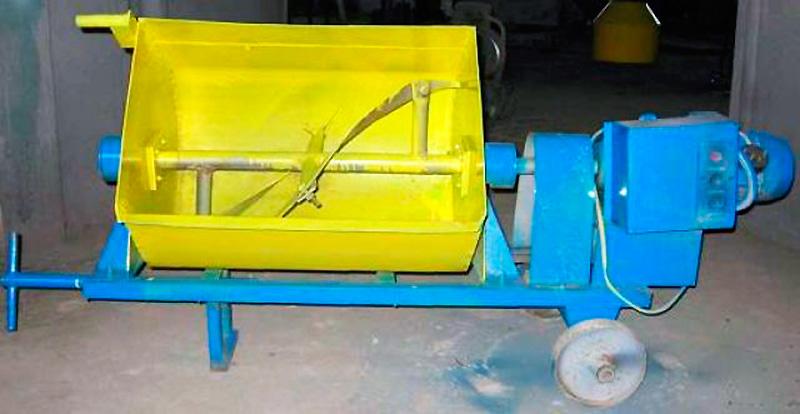 бетономешалка из стиральной машины или из металлической