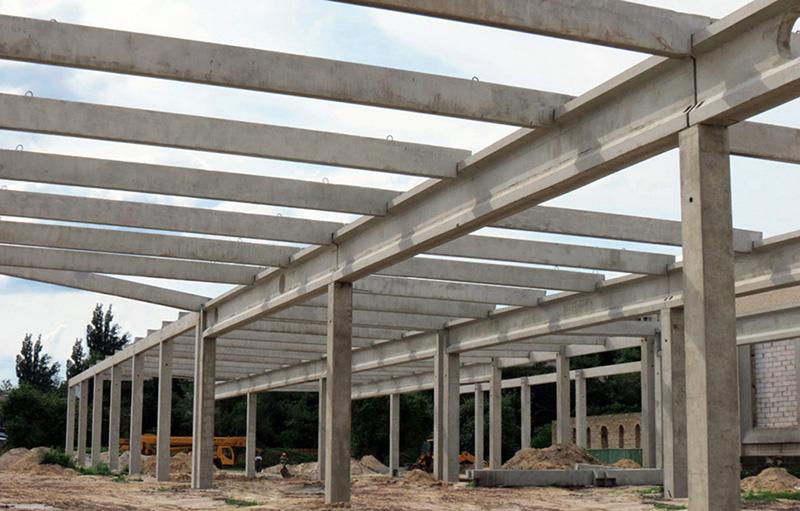 Массивные конструкции из бетона