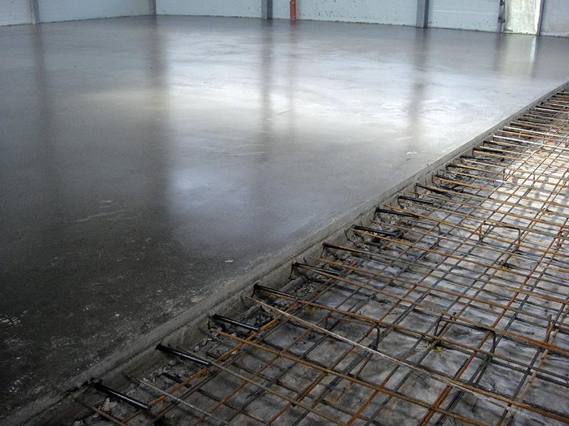 Стяжка пола из бетона