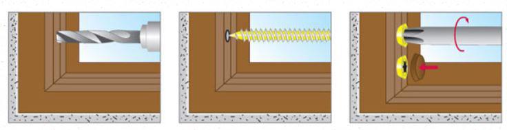 Крепление деревянных конструкций к бетону