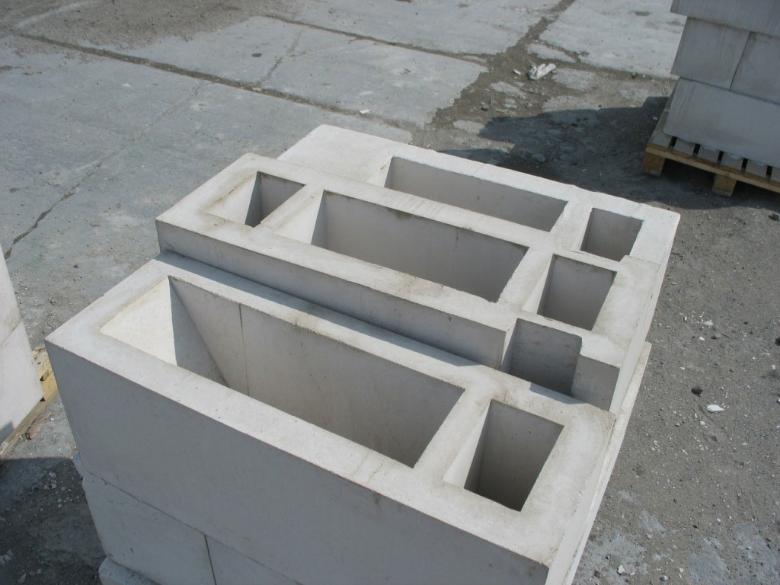 Блоки обладают прекрасными прочностными свойствами