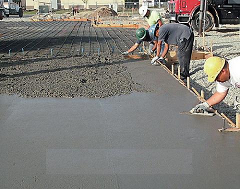 выравнивания бетона