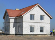 здание из газобетона