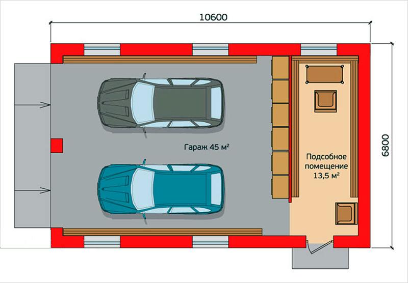 Проект для двух автомобилей