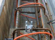 Внутренний прогрев бетона кабелем