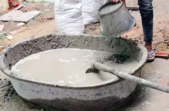 емкость для замеса бетона