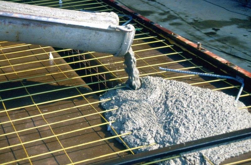 Температура заливки бетона без добавок