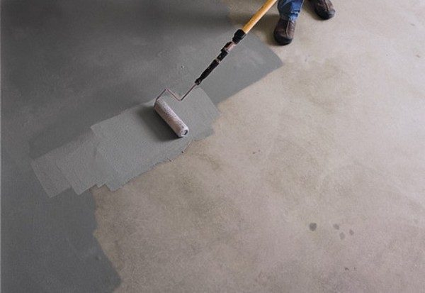лакокрасочное покрытие бетонный пол